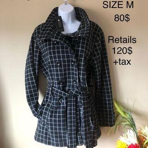 Spring/fall pea coat